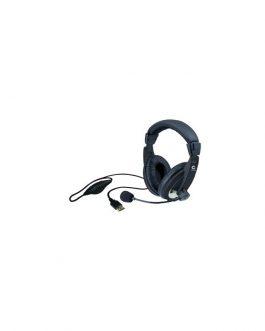 Headset com microfone USB - Gold Ship