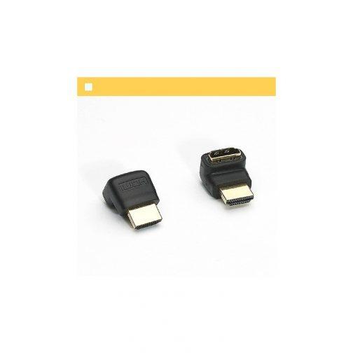 Adaptador HDMI Macho X HDMI Femea Dourada
