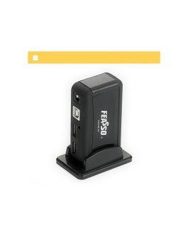 HUB USB 2.0 480 Mbps - 7 Portas USB - Fonte Própria - Feasso