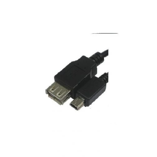 Cabo USB-A F X USB mini 5 pinos 1.1/2.0 - Roxline