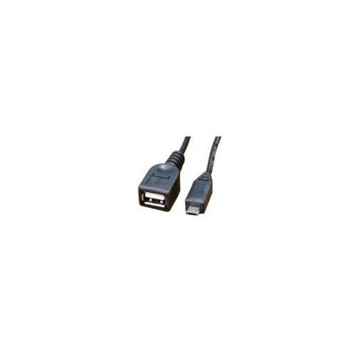 Cabo USB Femea x Micro USB V8