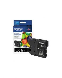 Cartucho p/Brother preto LC61BK
