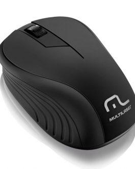 Mouse Sem Fio Preto USB - Multilaser
