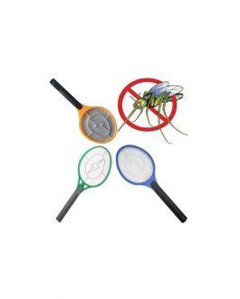 Raquete Elétrica - Mata Moscas Mosquitos Pernilongos