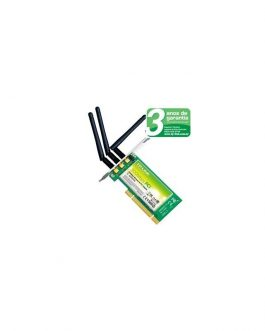Placa de Rede TP-Link PCI Wireless TL-WN851ND 300Mbps